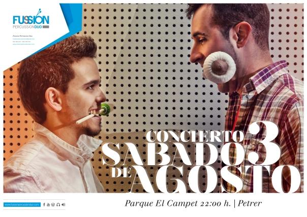 Sábado 3 de Agosto a las 22 h. en Parque El Campet (Petrer)